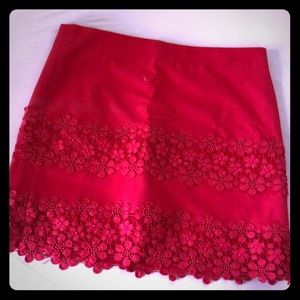 Jcrew skirt, coral/pink color size 2